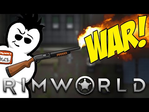 It's Time For WAR! | RimWorld Royalty 1.1 | Lets Play! |