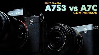 A7S3 vs A7C 카메라 비교