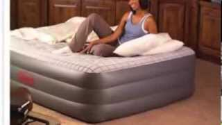 Coleman Premium Quickbed Double High Queen Airbed w/ Built-in Pump