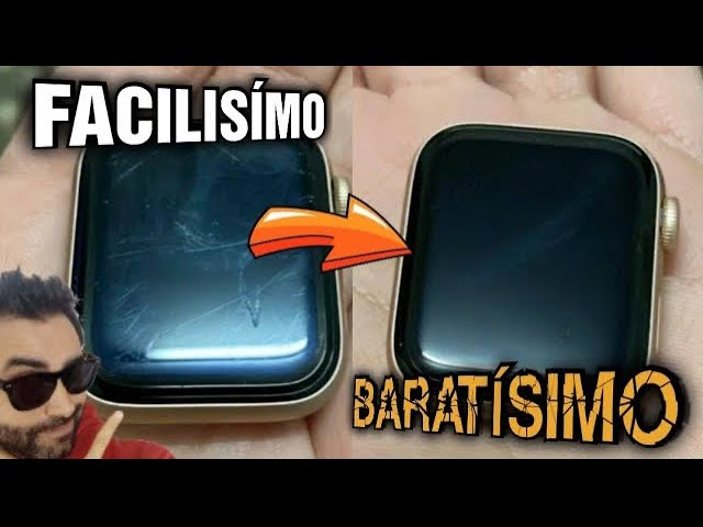 COMO PULIR PANTALLA APPLE WATCH FACILMENTE 🤯 (FUNCIONA de VERDAD)