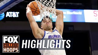 DePaul vs Central Connecticut State | Highlights | FOX COLLEGE HOOPS
