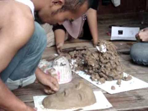 Cara Membuat Topeng Dari Tanah Liat Ala Kampung Seni Yudha Asriflv