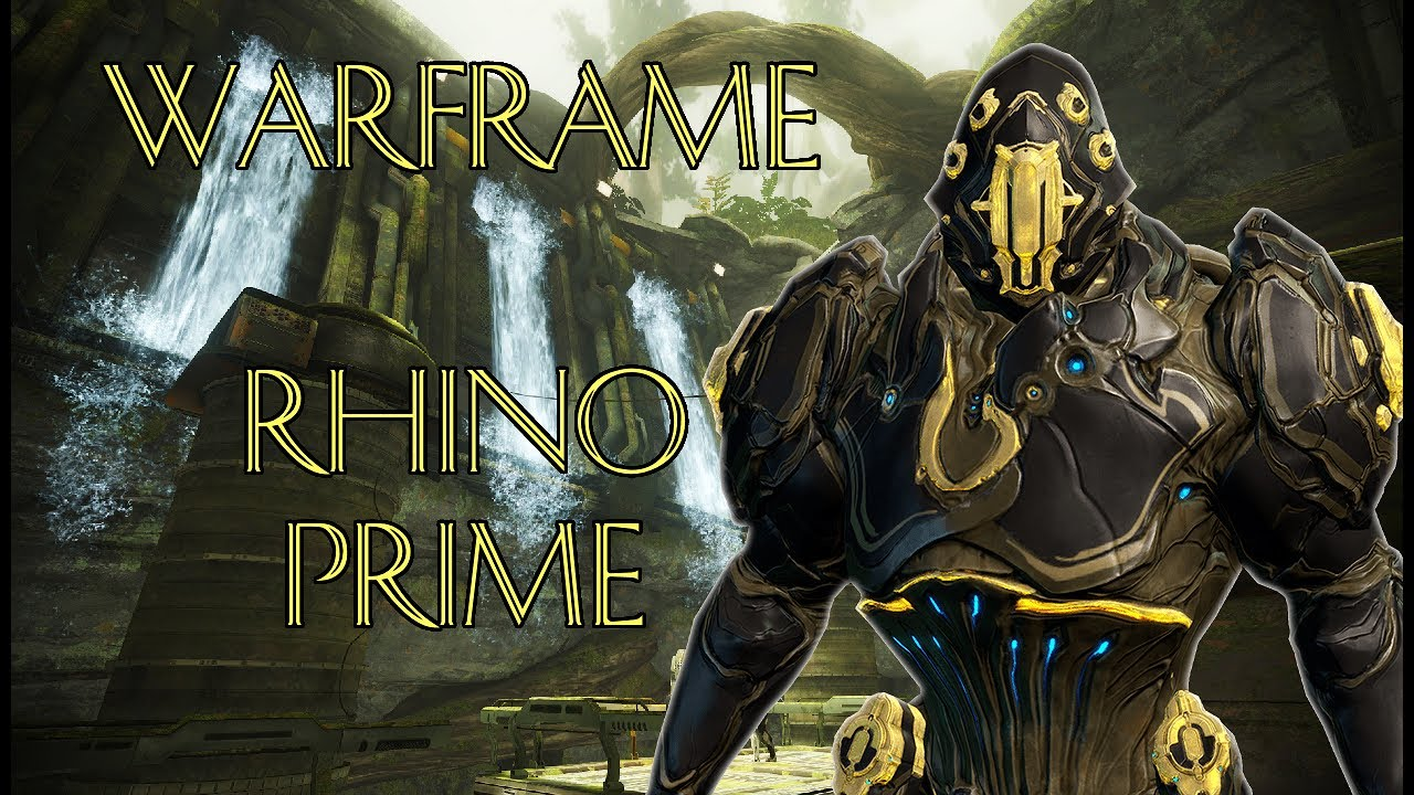 warframe  how to get rhino prime