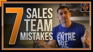 7 Mistakes Sales Managers Make