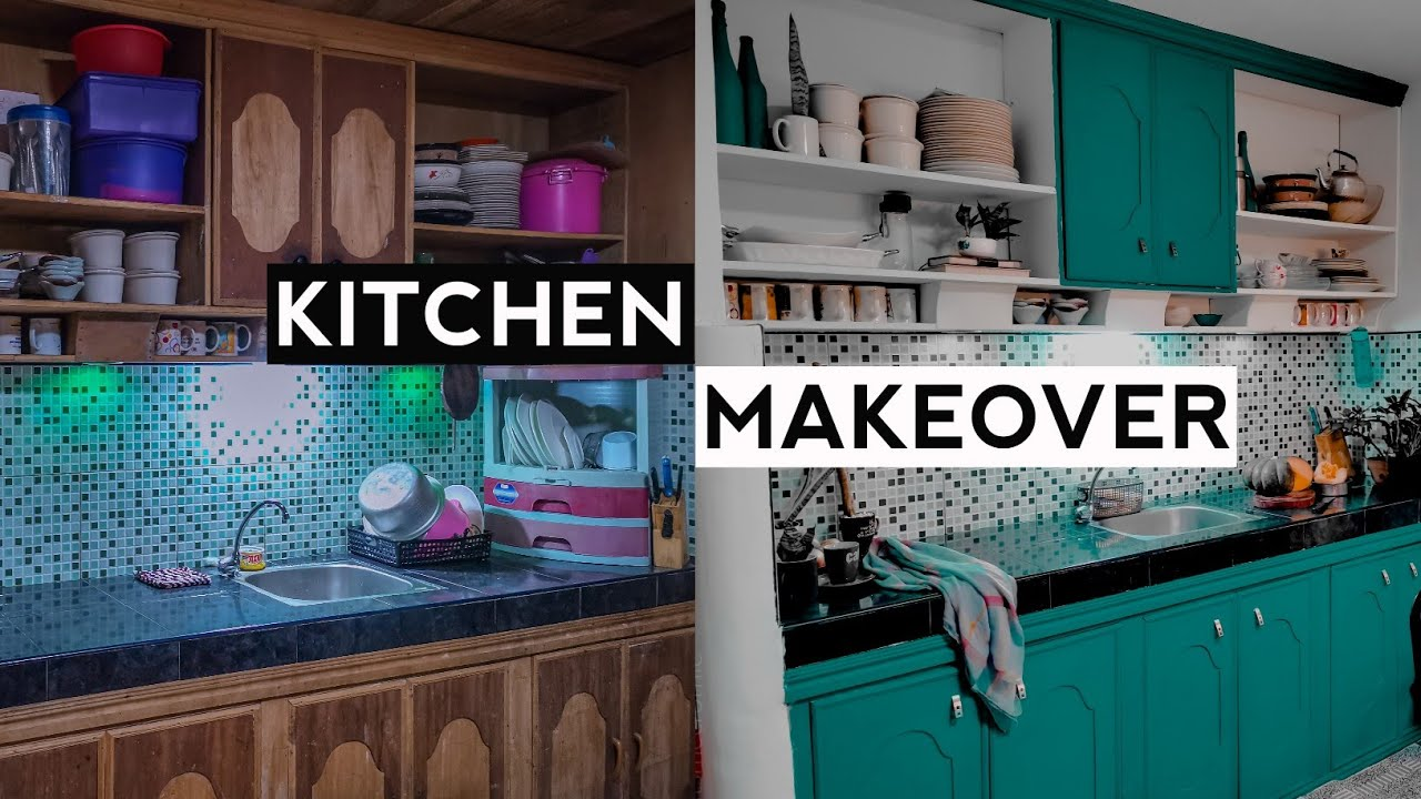 Kitchen Makeover Philippines Small Dining On A Budget Youtube