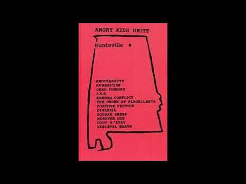 Angry Kids Unite - 12 band, 24 song compilation of the Huntsville, AL underground from 1981-1991