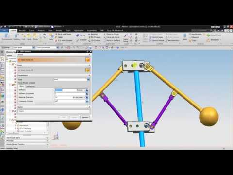 nx motion tutorial governor motion simulation youtube rh youtube com