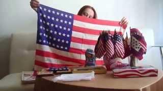 Коллекция винтажных флагов США. Обзор и заметки по истории. Часть 1