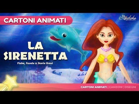 La Sirenetta storie per bambini | cartoni animati Italiano | Storie della buonanotte