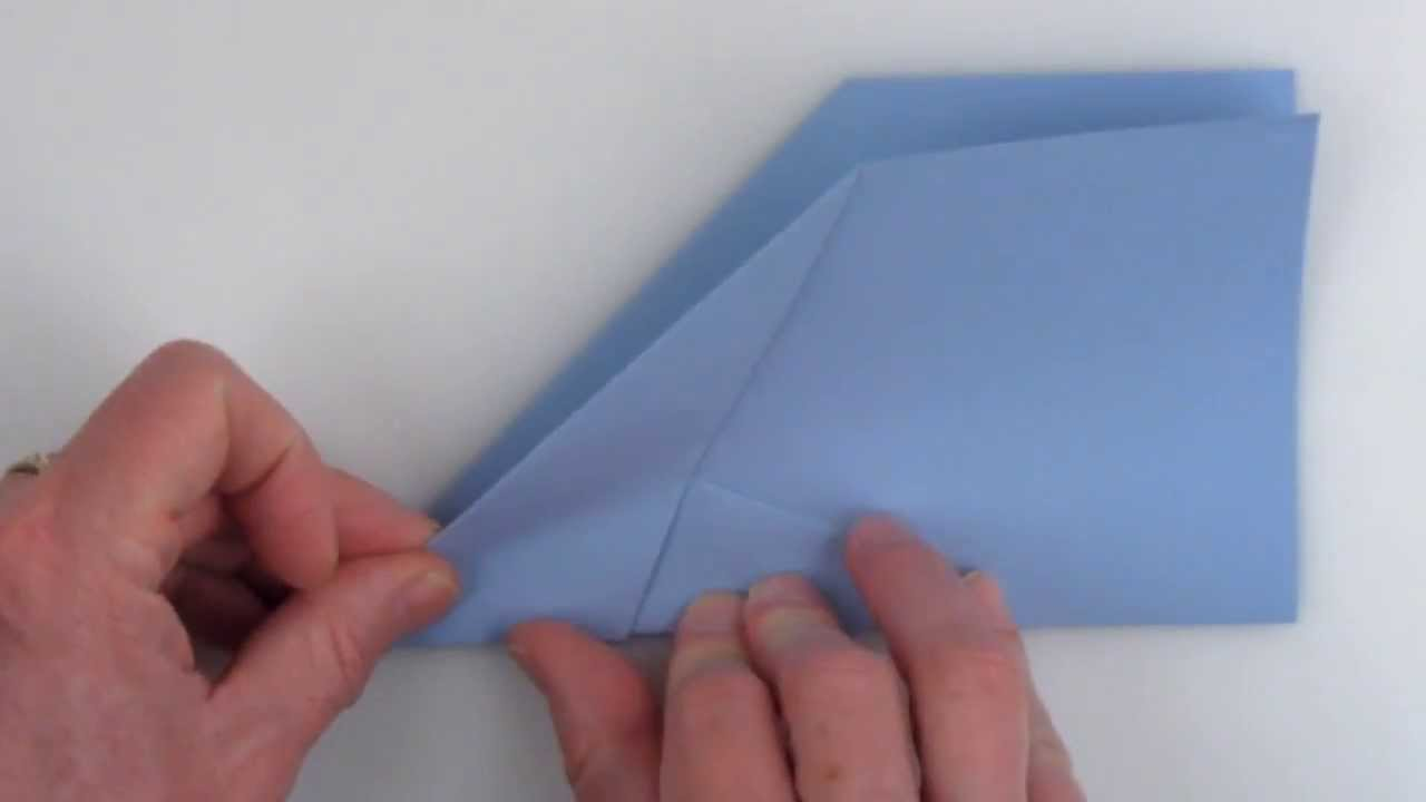 Papercraft How to fold the world record paper airplane