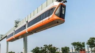 """بالفيديو والصور...الصين تطلق """"قطار السماء"""""""