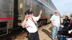 Amtrak Empire Builder Red Wing Minnesota to Columbus Wisconsin