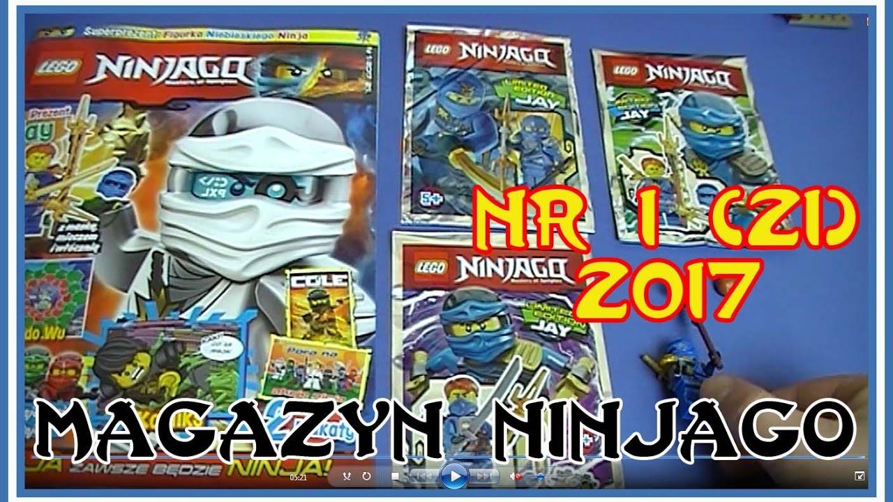Otwieramy Magazyn Lego Ninjago Nr 1 21 Z 2017 Figurka Jay Z