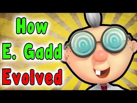 Evolution Of PROFESSOR ELVIN GADD (2001 - 2017)