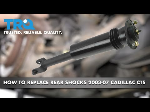How to Replace Rear Shocks 03-07 Cadillac CTS