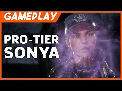 Mortal Kombat 11 Pro Tier SonicFox Sonya vs. Raiden Gameplay (Official) | MK11 Reveal Event thumbnail