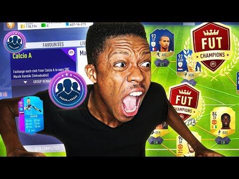 MOST INSANE FUT CHAMPIONS RAGE -  FIFA 18!!!