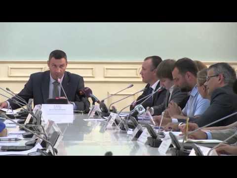Кличко сказал написать заявление на увольнение заместителя директора департамента градостроительства