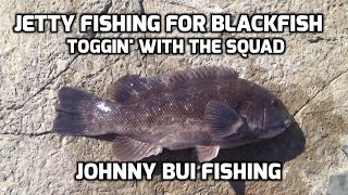 Jetty Fishing For Blackfish - Tog, NJ, Early October