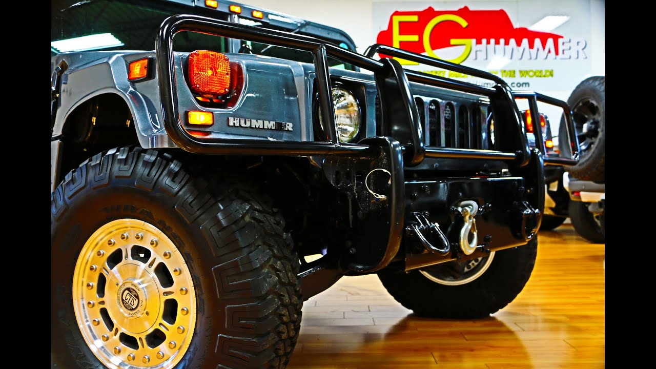 SOLD 2003 Hummer H1 For Sale Alpha Gray Metallic Low Miles The