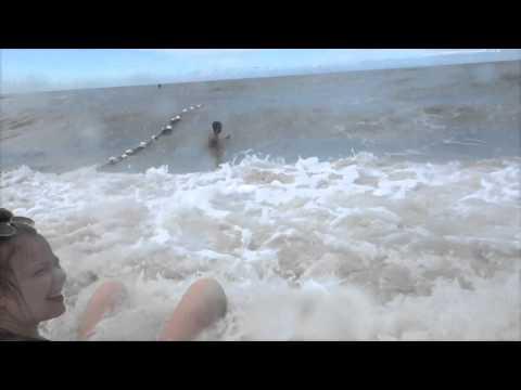 Loosing controll in the Indian ocean-waves, Malaysia
