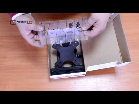 видео: brateck lda03-113 крепление для монитора или телевизора.