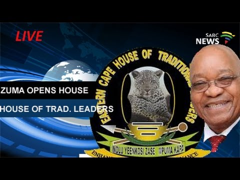 Pres. Zuma opens House of Traditional Leaders: 03 March 2017