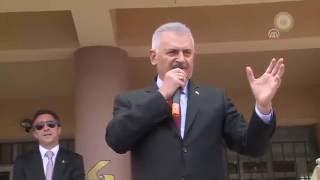 Başbakan Yıldırım Çankaya Sancak Anadolu Lisesi 39 ni ziyaret etti 23 09 2016