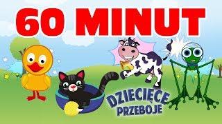 Zwierzaki - MIX 60 minut by Dziecięce Przeboje (Video)