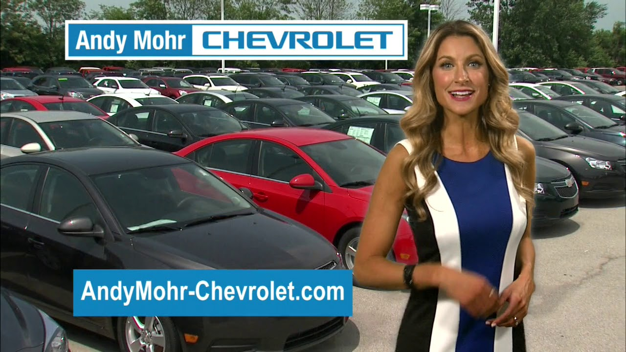 Andy Mohr Chevy >> August 2018 Tv Spot Plainfield In Andy Mohr Chevrolet
