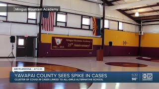 Yavapai County sees spike in cases