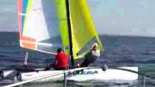 Nacra sailing at CISA