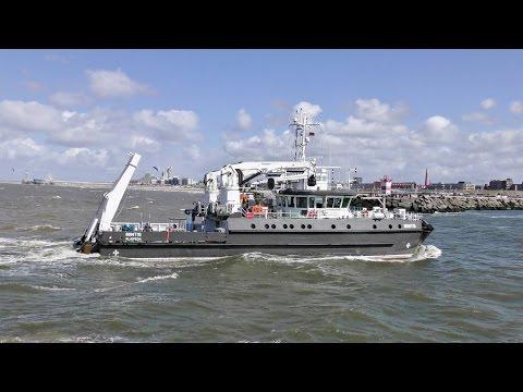 MINTIS Researh/Survey Vessel (Litouwen) Aankomst 17-4-2017