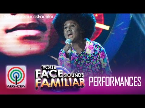 Your Face Sounds Familiar: Jolina Magdangal as Michael Jackson -