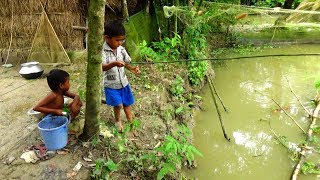 Fishing Video | Kids fishing by Daily Village Life