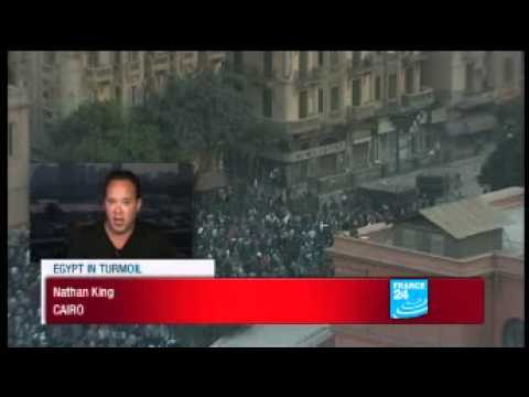 Egypt: Clashes break out on Tahrir Square