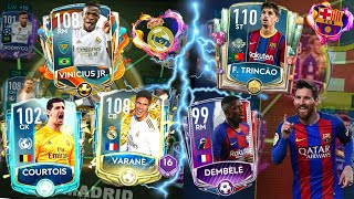 El clasico live in fifa mobile 20! it's happening guys! today we build the best possible full animated real madrid squad and barcelona squad. these 2 te...
