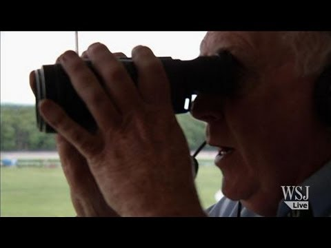 Horse Race Calling Secrets from Legend Tom Durkin - YouTube