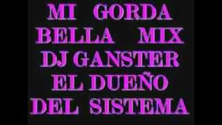 MI GORDA BELLA DJ GANSTER FT DJ WANER FT DJ TONY