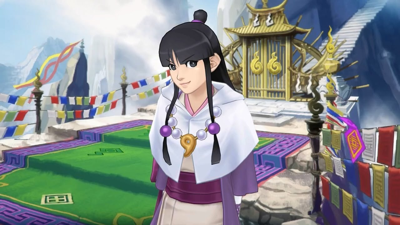 Phoenix Wright: Ace Attorney - Spirit of Justice - Maya Trailer