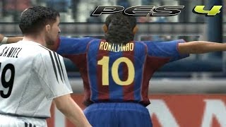 PES 4: Barcelona FC vs Real Madrid