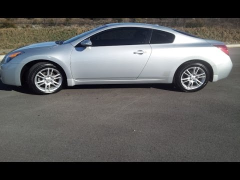 SOLD 2008 NISSAN ALTIMA 35 SE V6 COUPE SILVER 102K LEATHER NAV