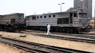 2019/07/01 【エジプト国鉄】 951レ 9213号機 カイロ駅 | Egypt National Railways: #951 at Cairo Ramsis
