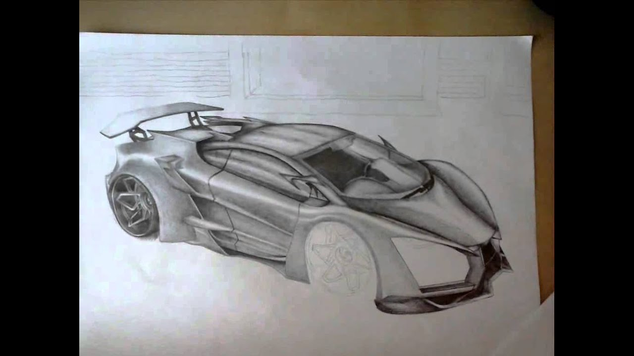 Lamborghini Sinistro Drawing 10 Hours   YouTube