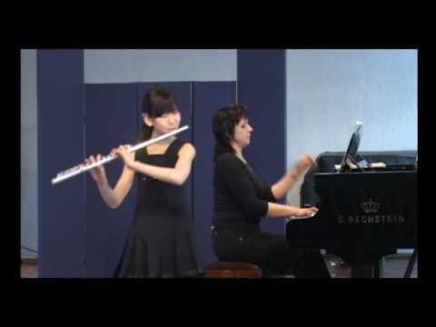 Chopin, Variations on a theme by Rossini  for flute and piano (La Cenerentola, non piu mesta)