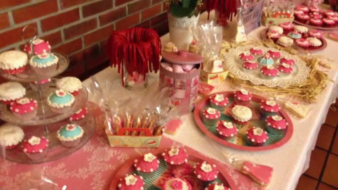 Mesa dulce boda en asturias mesas dulces de bodas youtube for Decoracion para mesa dulce