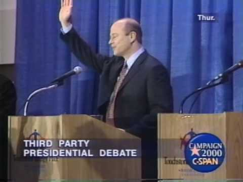 Third Party Presidential Candidates Debate 2000