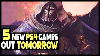 5 AWESOME PS4 GAMES COMING TOMORROW - NEW PS4 GAMES!
