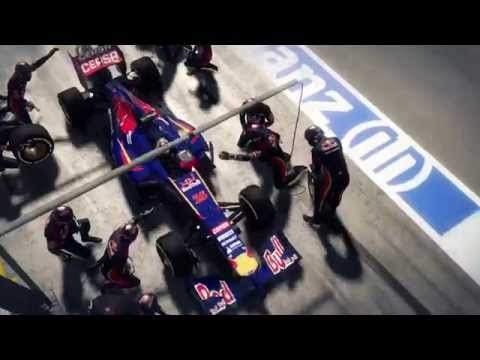 F1 2014 first trailer  formula one 2014 on xbox 360 ps3 and pc