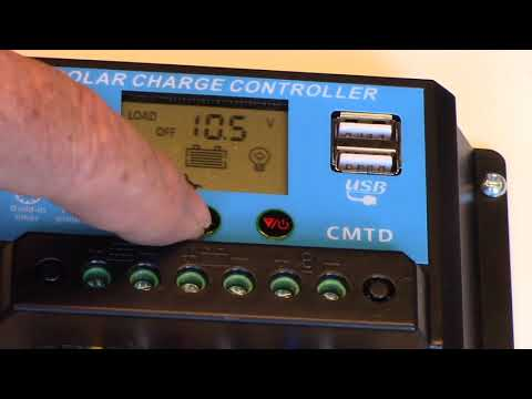 Load Control Programming Feature Of The Eprc Solar Char